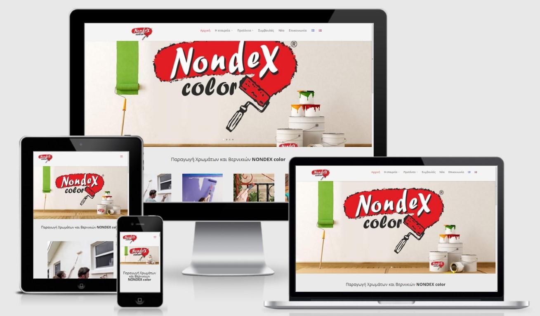NONDEX Βιομηχανία Χρωμάτων