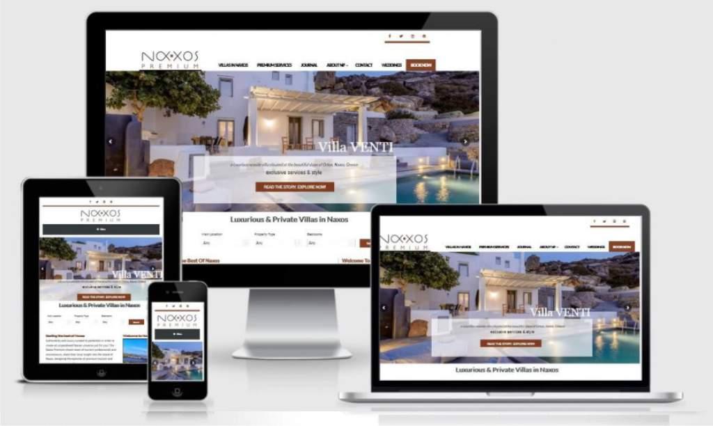 Κατασκευή Ιστοσελίδας για Βίλλες