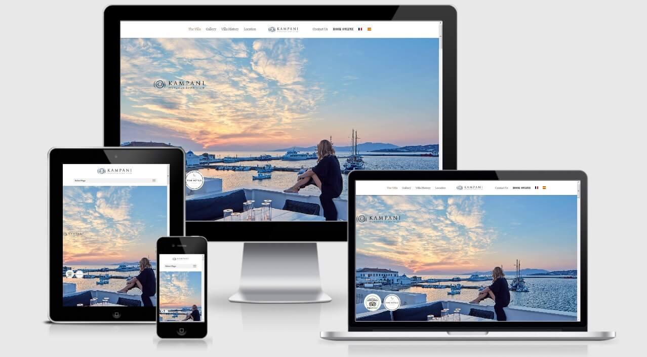Κατασκευή Ιστοσελίδας για Μεταφορές